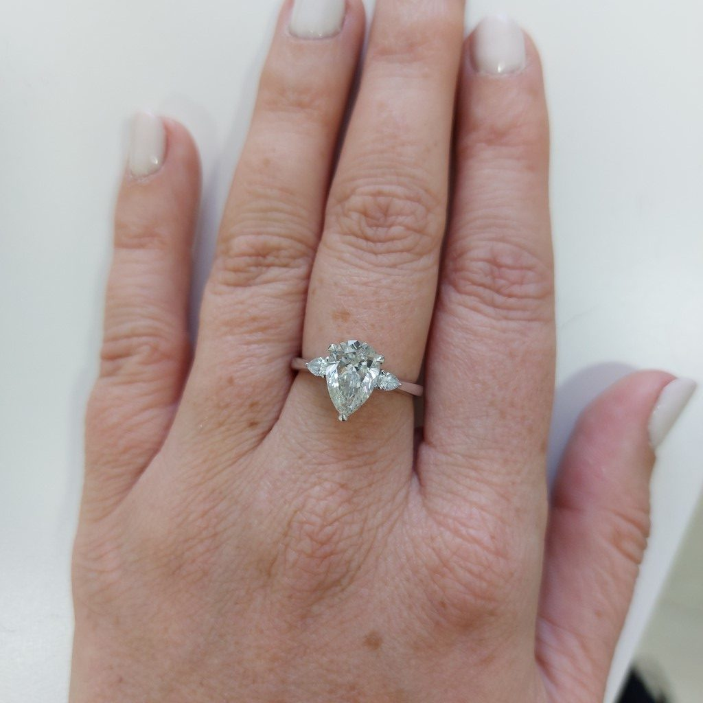 Courtney 2.19 Total Carat Ring